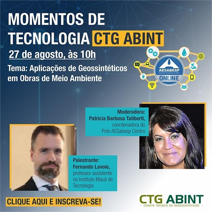 CTG ABINT no Momentos de Tecnologia da AESABESP