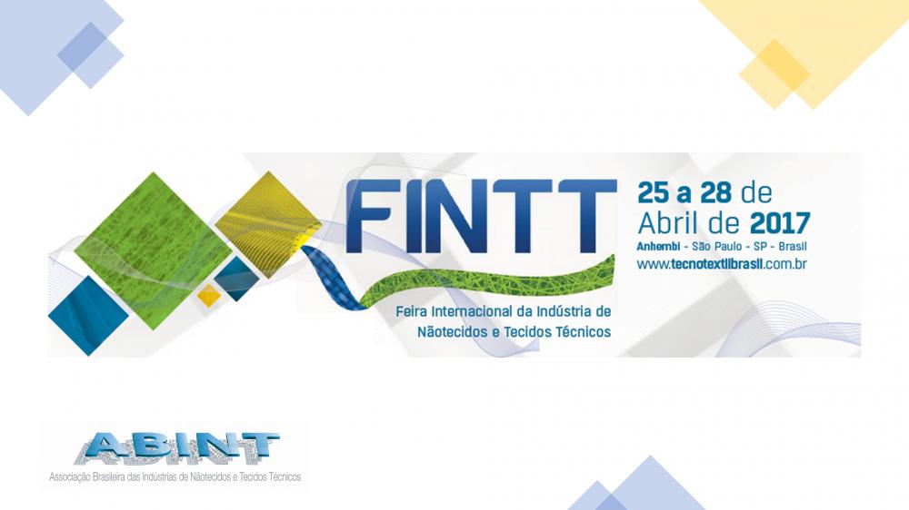 FINTT 2017 - Feira Internacional de Nãotecidos e Tecidos Técnicos